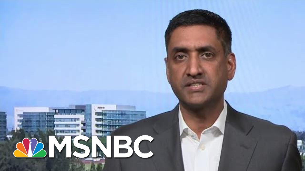 Full Khanna: Trump 'Picked The Wrong Person' In Going After Cummings | MTP Daily | MSNBC 1