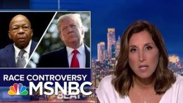 Trump Deploys Race Attacks As Political Tactic | The Beat With Ari Melber | MSNBC 3