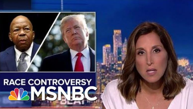 Trump Deploys Race Attacks As Political Tactic | The Beat With Ari Melber | MSNBC 1