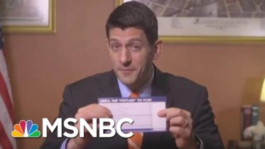 The Tax Bill Postcard And The Trump Kiss Of Death | All In | MSNBC 6