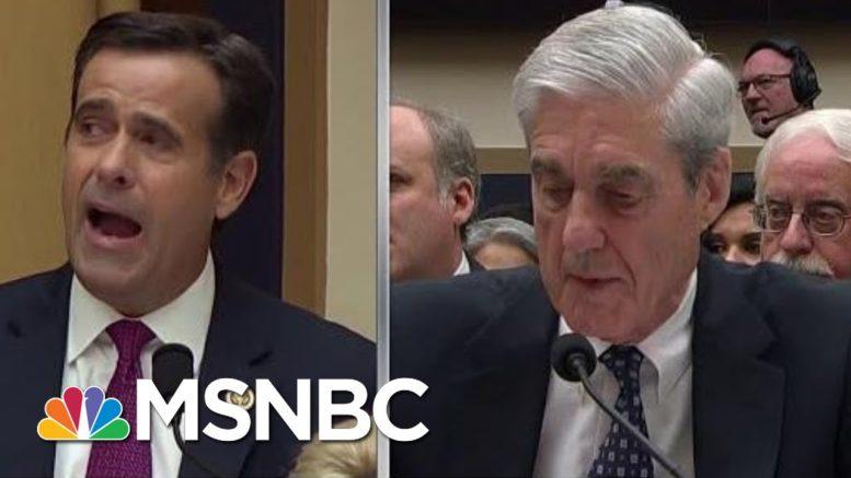 Donald Trump Poised To Take Major Step To Politicizing US Intelligence | Rachel Maddow | MSNBC 1