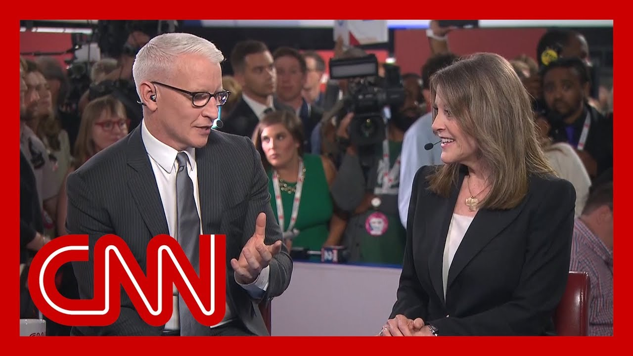Watch Marianne Williamson's interview with Anderson Cooper 1