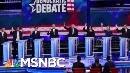 Dems Face Challenge Of Responding To Donald Trump's Attacks At Debate | Velshi & Ruhle | MSNBC 1