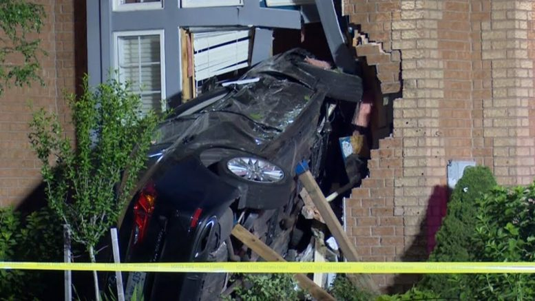 Vehicles crash into 3 different GTA homes in one day 1
