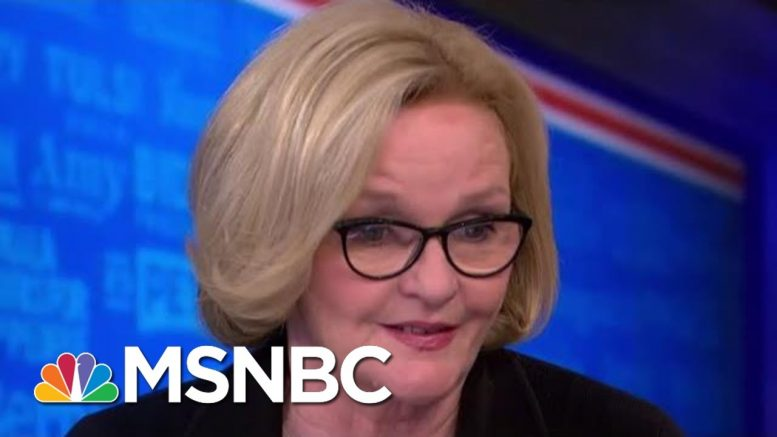 Claire McCaskill: You Will Lose Voters With Free Healthcare For Undocumented Immigrants | MSNBC 1