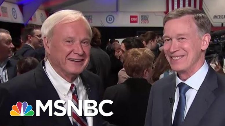 John Hickenlooper Doubts Jobs Guarantee: 'I Understand A Sinkhole When I See One' | MSNBC 1