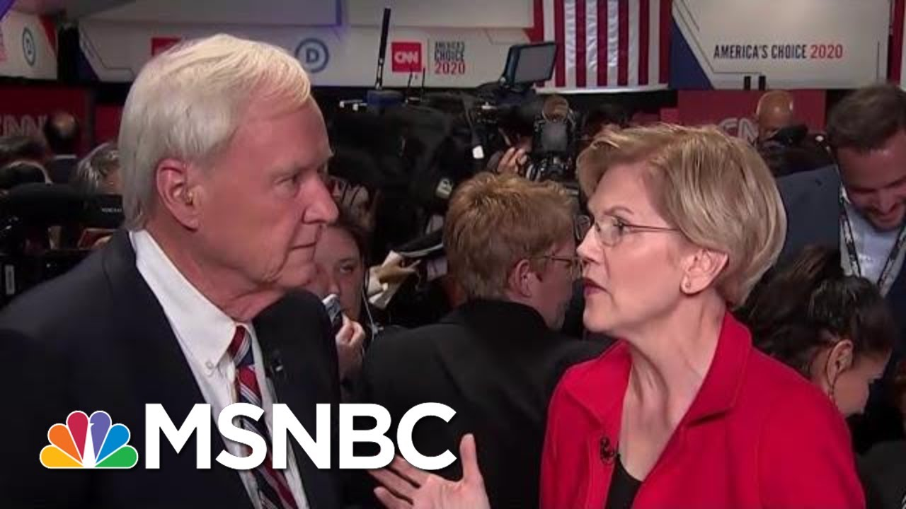 Elizabeth Warren: Medicare For All Is Cheaper Than Our Current System | MSNBC 9
