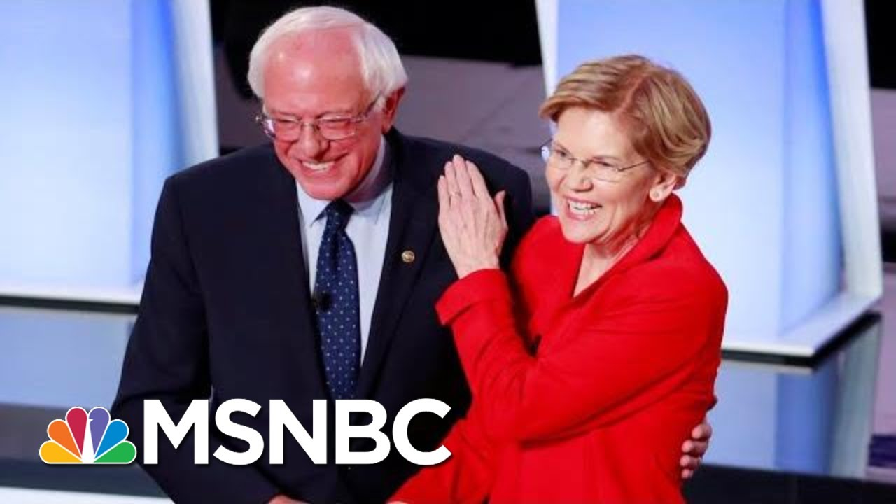 Democrats Hit Donald Trump On Racist Attacks On Night One Of Second Debate | The 11th Hour | MSNBC 8