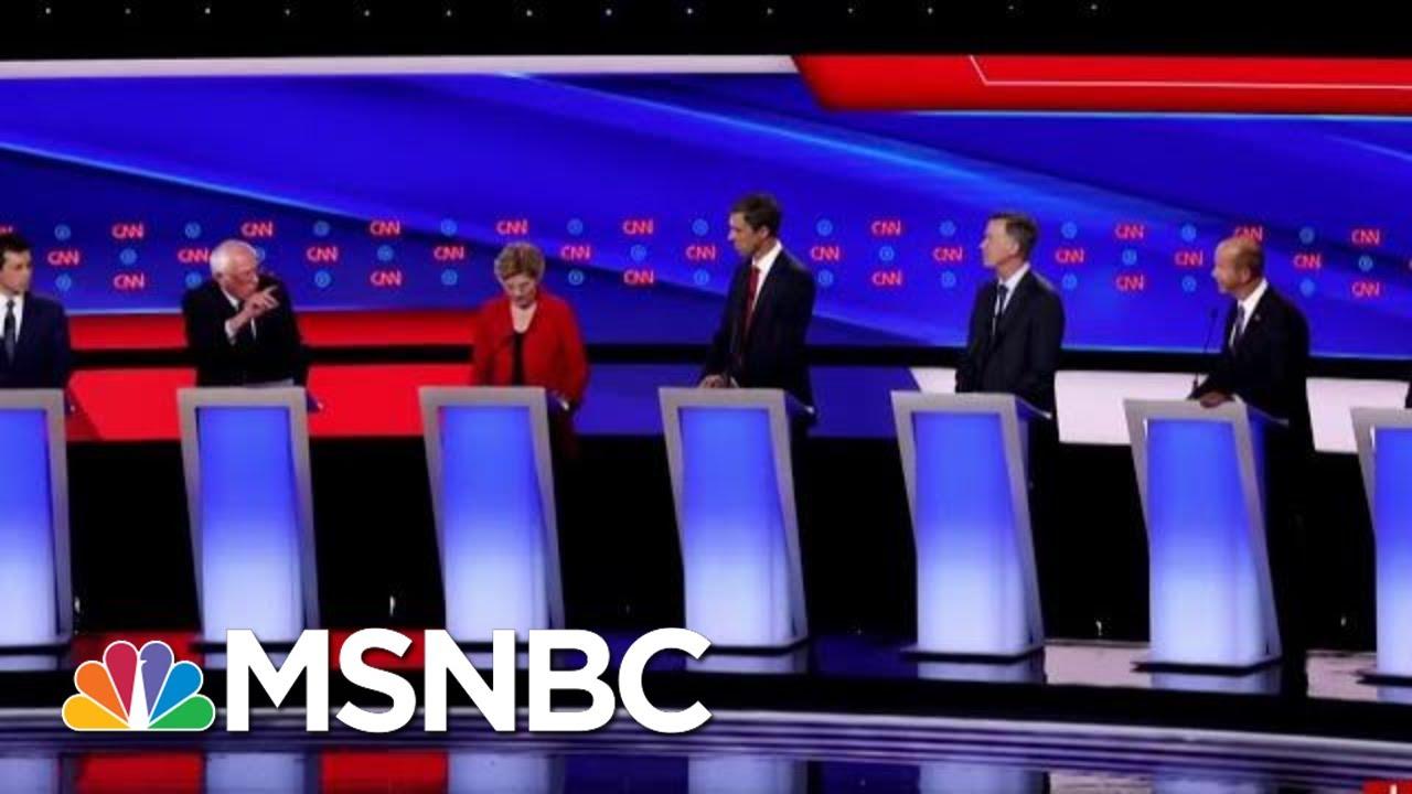 Liberals And Moderates Clash In Second Democratic Debate | Morning Joe | MSNBC 6