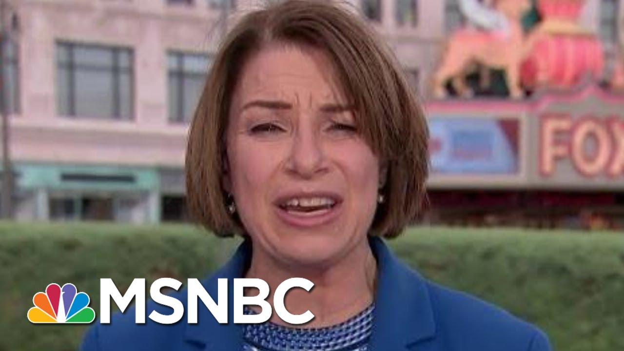 Senator Amy Klobuchar: Mitch McConnell Puts Party Ahead Of Democracy | Morning Joe | MSNBC 2