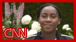 Tennis star Cori 'Coco' Gauff reflects on historic Wimbledon run 1