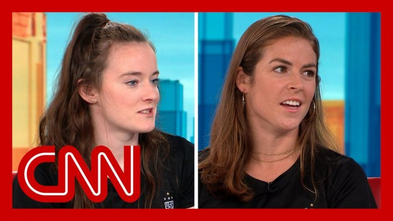 Rose Lavelle and Kelley O'Hara reflect on World Cup win 1