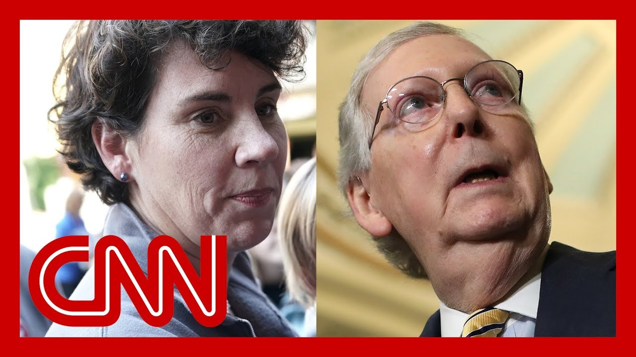 Mitch McConnell's 2020 challenger speaks out 7