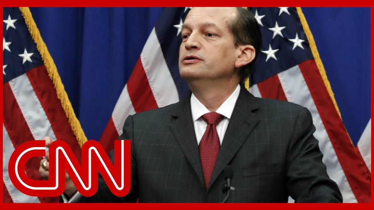 Alexander Acosta defends role in Jeffrey Epstein scandal 1