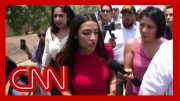 Ocasio-Cortez visits border facility: 'I was not safe' 2