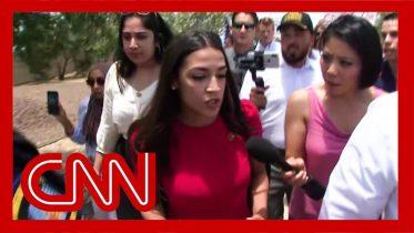 Ocasio-Cortez visits border facility: 'I was not safe' 5