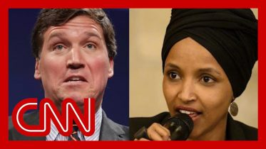 Omar responds to Carlson's claim that she hates America 5