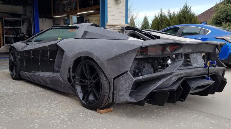 Meet the Colorado physicist who's constructing this lookalike Lamborghini using a 3D printer 1