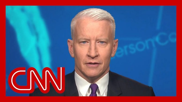 Anderson Cooper: Trump does this when he's blocked on something 1