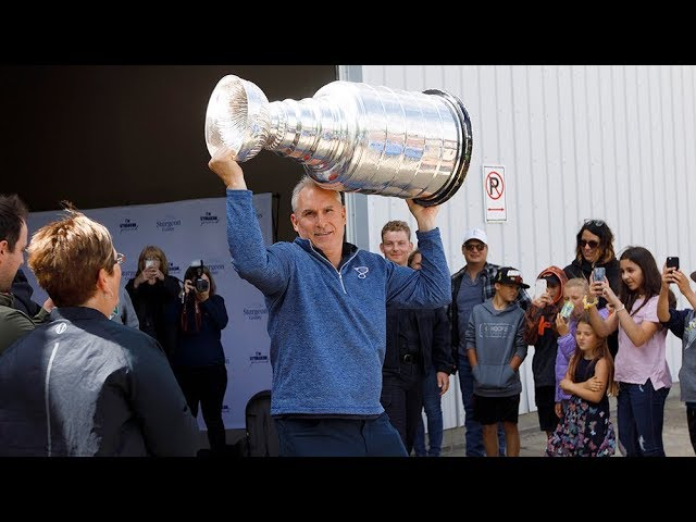 Stanley Cup travels to small-town Alberta 4