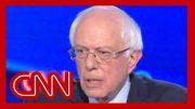 Bernie Sanders begins debate with a fight: You're wrong 2