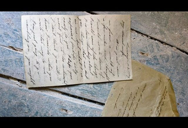 Long-lost love Second World War letter returned to couple's son 1
