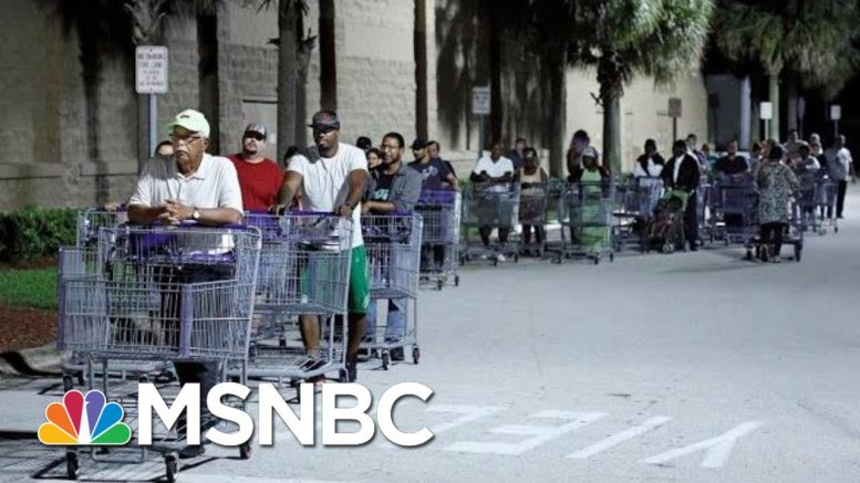 Florida Residents Prepare For Worst As Hurricane Dorian Approaches | Velshi & Ruhle | MSNBC 1