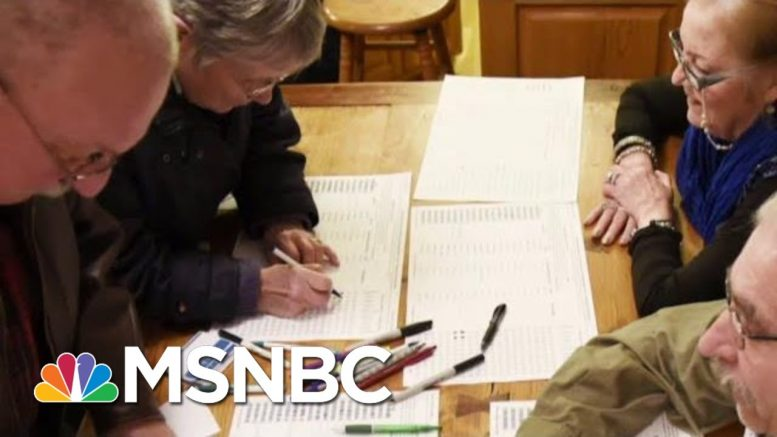 DNC Will Recommend Nixing Iowa's 'Virtual Caucus' Plans Over Hacking Fears | Hallie Jackson | MSNBC 1