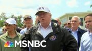 On Dorian, Trump Goes From Criticizing Puerto Rico To Concerned About Florida | Hardball | MSNBC 3