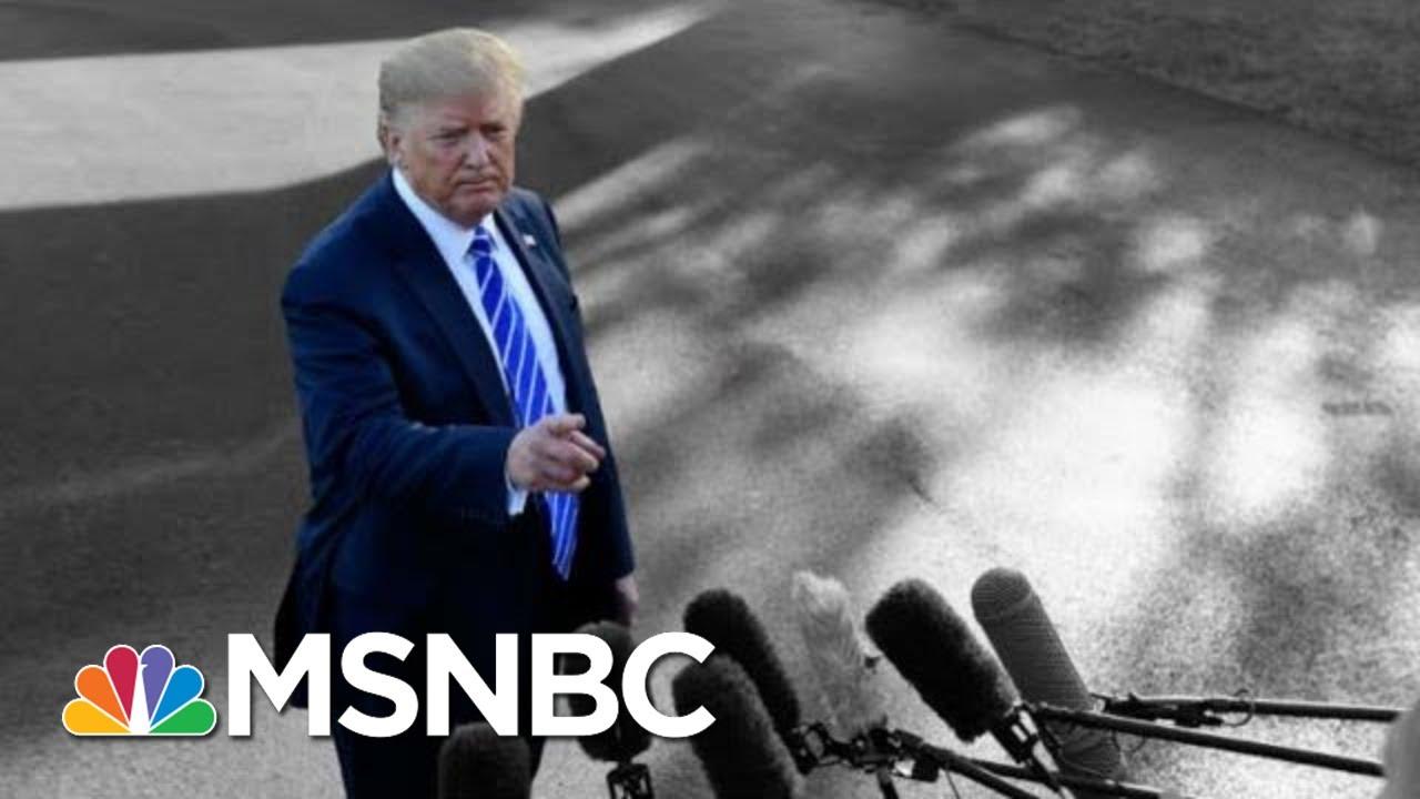 Trump Declassifies Iran Pic Via Tweet As Hurricane Dorian Grows Stronger | The 11th Hour | MSNBC 4
