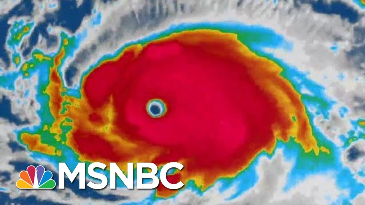 Where Is Hurricane Dorian Going And Where Will It Make Landfall? | The 11th Hour | MSNBC 3