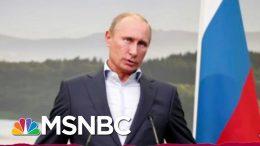 Latest Trump Putin Appeasement: Growing Hostility Toward Ukraine | Rachel Maddow | MSNBC 9