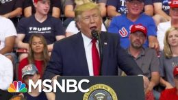 See Donald Trump Debunk His Own 'Fake News' Attack | The Beat With Ari Melber | MSNBC 3