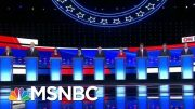 Health Care And Immigration Dominate 2nd Democratic Debate | Velshi & Ruhle | MSNBC 5