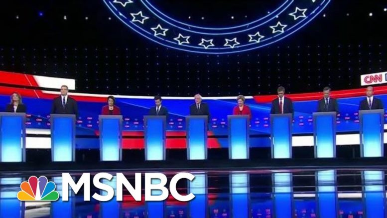 Health Care And Immigration Dominate 2nd Democratic Debate | Velshi & Ruhle | MSNBC 1