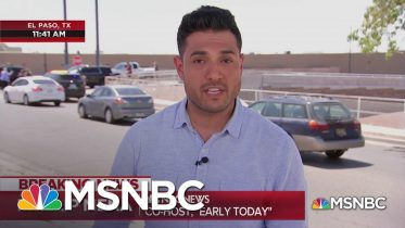Watch Phillip Mena Describe How Closely The Shooting In El Paso Hits Home | MSNBC 6