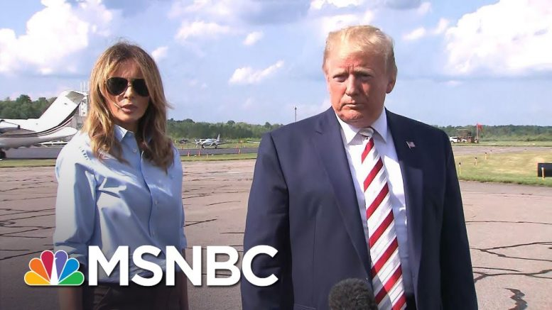 Trump Reacts To Mass Shootings: 'Hate Has No Place In Our Country' | MSNBC 1