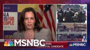"""Sen. Harris On Trump's Response To Shootings: """"Any Words That He Speaks Today I Find To Be Empty"""" 5"""