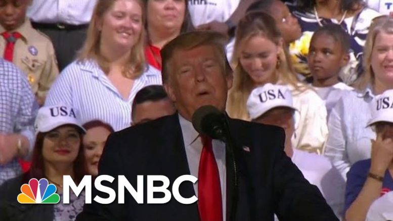 President Donald Trump Cites 'Fake News' As Whipping Up 'Anger And Rage' | Morning Joe | MSNBC 1