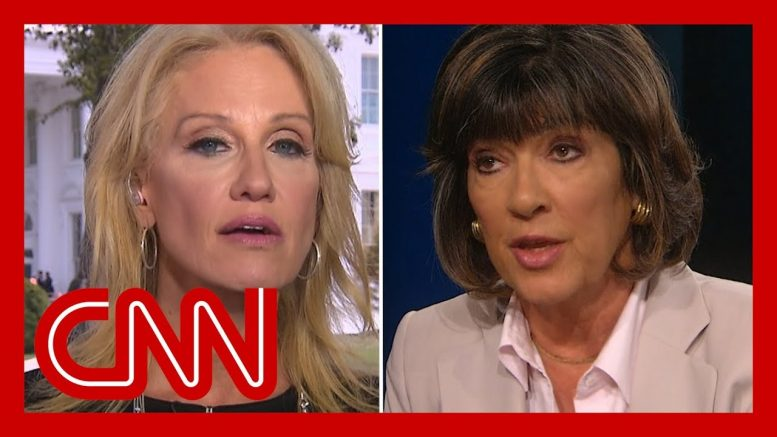 Amanpour clashes with Conway over Trump's rhetoric 1