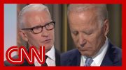 Biden gets personal after Anderson Cooper's question 5
