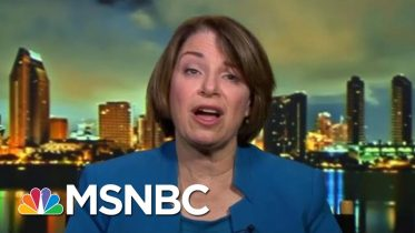 Sen. Klobuchar: It's Time To Ask Lawmakers 'What Side Are You On?'   Velshi & Ruhle   MSNBC 6