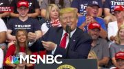 2020 Dems Say Donald Trump's Rhetoric Shares Blame For Shootings | Velshi & Ruhle | MSNBC 5