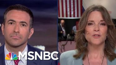 2020 Dem Marianne Williamson Addresses Vaccination Controversy | The Beat With Ari Melber | MSNBC 6