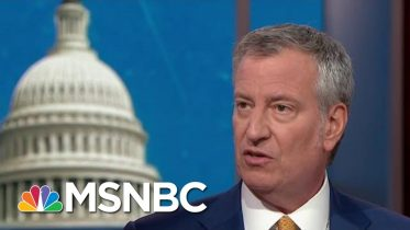 Full De Blasio: President Donald Trump Encourages 'Division And Hatred' | MTP Daily | MSNBC 1