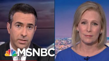 Gillibrand: Donald Trump Is 'Spurred On By White Nationalism'   The Beat With Ari Melber   MSNBC 3