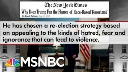 Frank Figliuzzi: Trump Failed By Not Directly Condemning White Supremacists | The 11th Hour | MSNBC 3