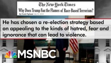 Frank Figliuzzi: Trump Failed By Not Directly Condemning White Supremacists   The 11th Hour   MSNBC 6