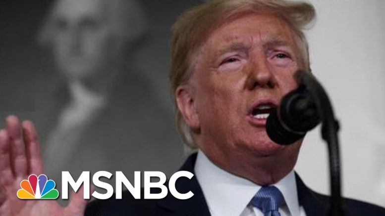 Trump Condemns Mass Shootings But Fails To Mention His Own Past Rhetoric | The 11th Hour | MSNBC 1
