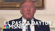 A History Of President Donald Trump Addressing Mass Shootings | Morning Joe | MSNBC 4